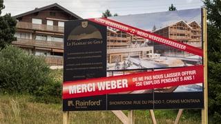 Massiv mehr Arbeitslose im Walliser Baugewerbe