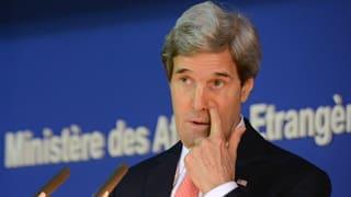 Nahost-Friedensgespräche: Kerry reisst der Geduldsfaden