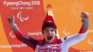 Theo Gmür va per aur en la cursa rapida