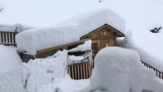 Viel Regen im Süden und grosse Neuschneemengen in den Alpen