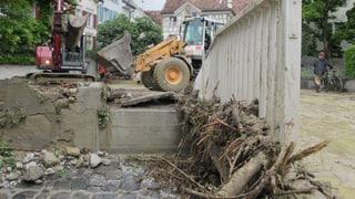 Regen angekündigt: Stadtbach muss frei bleiben