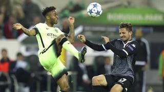 So verlief Manchester Citys Sieg in Mönchengladbach