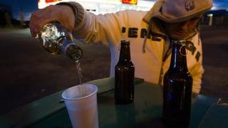 Polizei fordert Alkohol-Verkaufsverbot in der Nacht