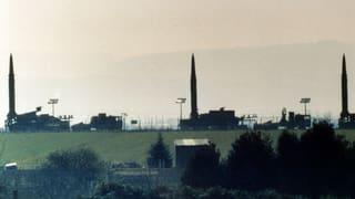 Die Grenze zwischen kriegerischer und friedlicher Atomenergie