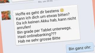Trickserei auf Facebook: Gib mir Geld! (Artikel enthält Audio)
