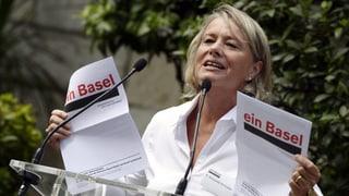 Basler Regierungen unterstützen Elisabeth Schneider-Schneiter