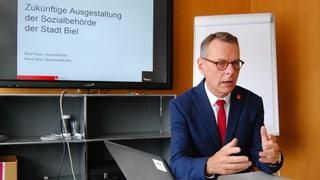 SVP-Gemeinderat Beat Feurer kämpft um seine Kompetenzen