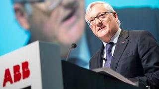 Aargauer führt Industriekonzern ABB