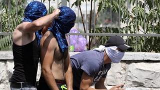 Palästinenser frieren Beziehungen zu Israel ein