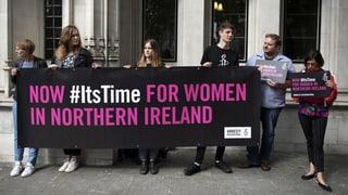 Abtreibungsverbot in Nordirland bleibt bestehen