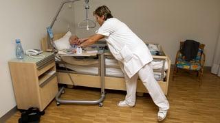 Pflegebetten im Aargau bleiben leer