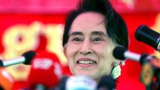 Friedensnobelpreisträgerin Aung San Suu Kyi hat sich in den letzten Jahren von der unbeirrbaren Oppositionellen zur Pragmatikerin mit Machtanspruch gewandelt.