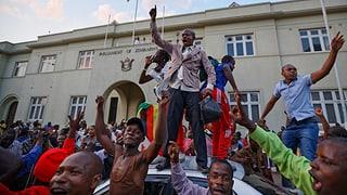 Jubel und Freudentränen in Harare