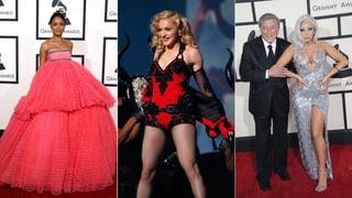 Grammys 2015: Viel nackte Haut und Outfit-Irrsinn