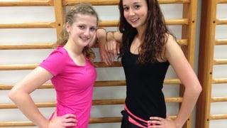 Jana und Eliane tanzen für «Jeder Rappen zählt»