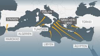 Gefährliche Flucht nach Europa