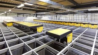 Die Post im Online-Geschäft: Logistikzentrum Oftringen baut aus