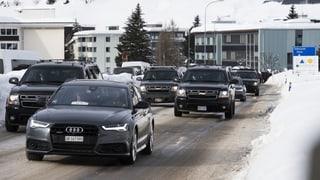 Davoser heizen dem Weltwirtschaftsforum ein