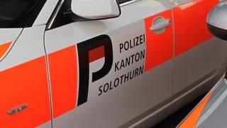 Polizeieinsatz in Bellach: Mutmassliche Linksextreme greifen Rechtsextreme an