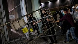 Hongkong-Proteste: Sturm aufs Parlament misslingt