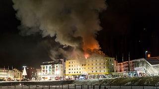Arosa: Organisar letgs suenter il grond incendi