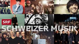 Schweizer Musik – ein ganzer Tag: Alle Live-Gäste auf einen Blick