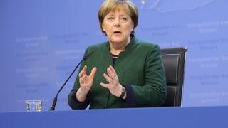 Trump-Besuch von Kanzlerin Merkel ist verschoben