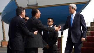 Erste Visite nach Mursis Absetzung: John Kerry in Ägypten