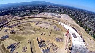 Drohne lüftet Geheimnis um neuen Apple-Campus