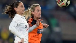FCZ-Frauen schlagen Glasgow