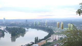 Keine Hochhäuser in Basel Ost