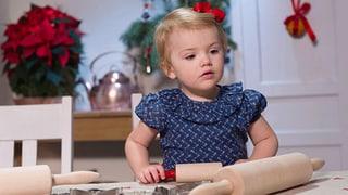 Prinzessin Estelle backt Weihnachts-Guetzli