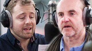 Das ESC-Finale mit Satiriker Peter Schneider und Gabriel Vetter