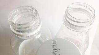 Warum ist die Flaschenöffnung bei Eistee grösser?