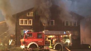 Brand in Ulrichen fordert ein Todesopfer