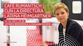 «Café Rumantsch cun la directura» … a Masagn