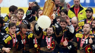 Der SC Bern ist Schweizer Meister!