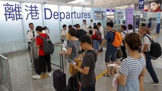 Hongkonger Flughafen ist wieder offen