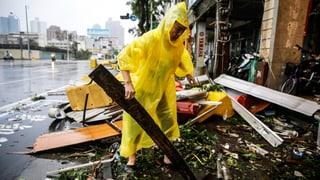 Super-Taifun «Meranti» wütet in Taiwan