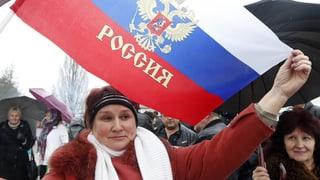 Krim-Führung will raschen Anschluss an Russland