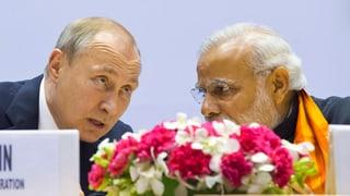 Russland liefert mehr Gas und Atomtechnik nach Indien