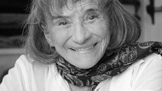 Trudi Gerster gestorben