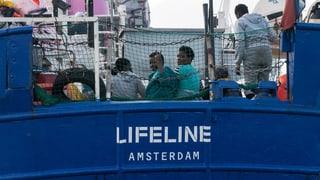 Rettungsschiff «Lifeline» darf in Valetta anlegen