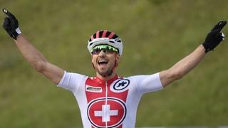 Die Schweiz gewinnt Gold in der Mixed-Staffel