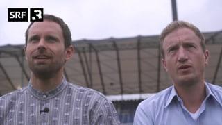 Büssi und Manu bei den Schwing-Fans: Worum gehts hier eigentlich? (Artikel enthält Video)