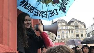 Sicherheitsdepartement muss über Route für Klima-Demo entscheiden