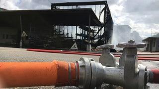 Der Werkhof wurde ein Raub der Flammen: Bilder und Bericht vom Brandtag