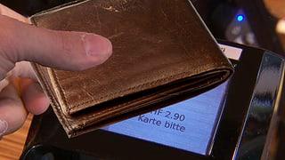 Kontaktlos bezahlen mit Portemonnaie – ab zwei Karten blockiert