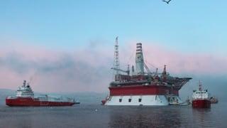 Russland liefert erstes Öl von umstrittener Arktis-Plattform