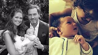 Roger Federer, Prinzessin Madeleine & Co: Die Promi-Geburten 2014